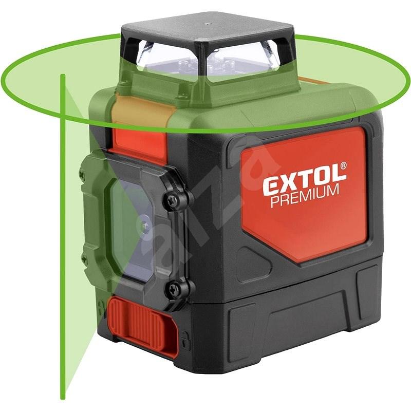 EXTOL PREMIUM 8823307 - Křížový laser