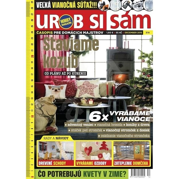 Urob si sám - 12/2015 - Digital Magazine