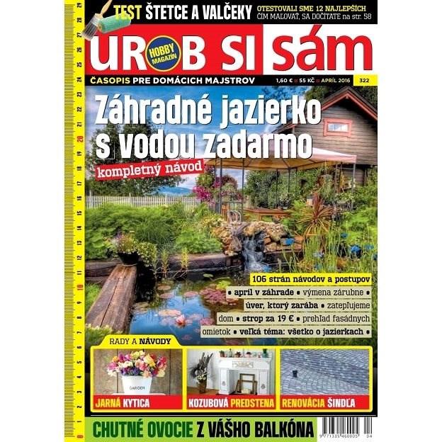 Urob si sám - 4/2016 - Elektronický časopis