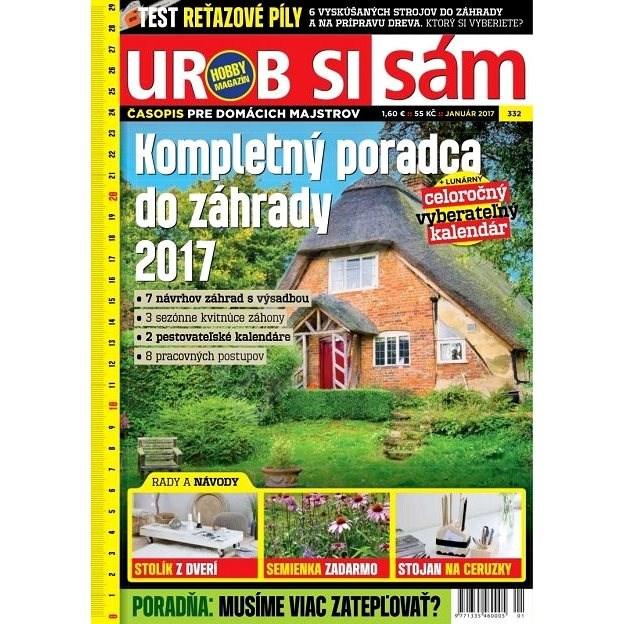 Urob si sám - 1/2017 - Elektronický časopis