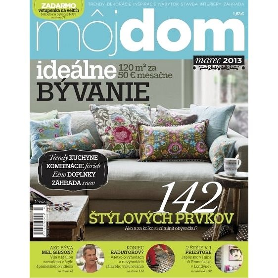 Môj dom - marec 2013 - Elektronický časopis