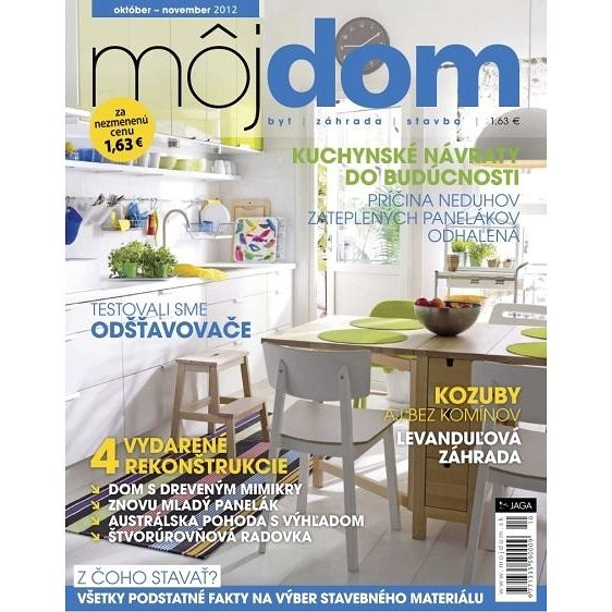 Môj dom - 10-11/2012 - Elektronický časopis