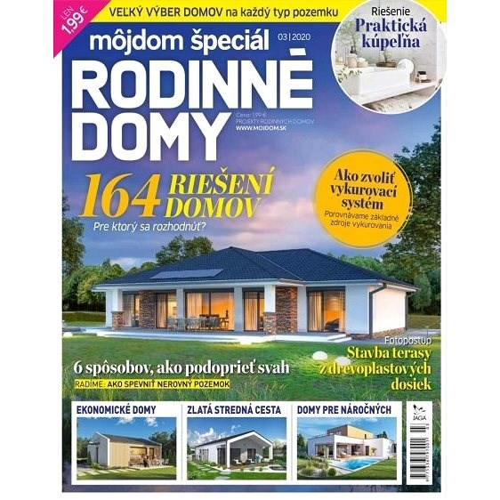 Môj dom - špeciál 3/2020 - Elektronický časopis