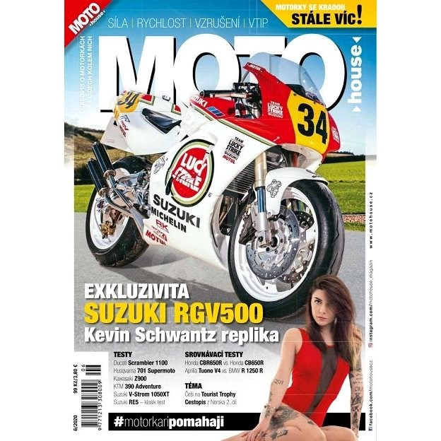 MOTOhouse - 6/2020 - Elektronický časopis