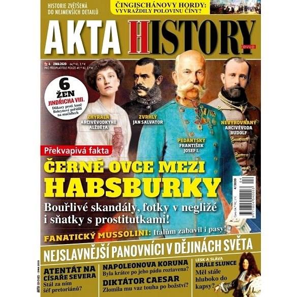 Akta History revue - 4/20 - Elektronický časopis