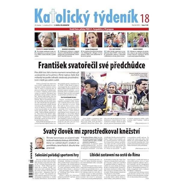 Katolický týdeník - 18/2014 - Elektronické noviny