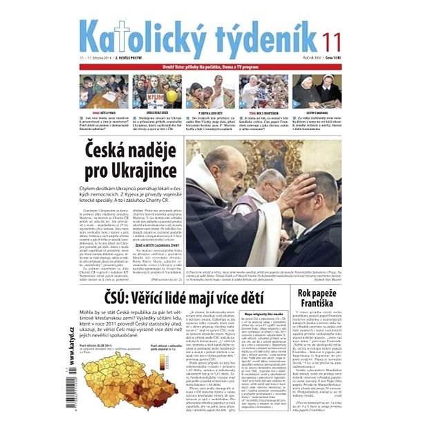 Katolický týdeník - 11/2014 - Elektronické noviny