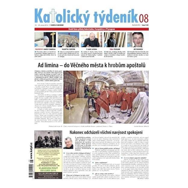 Katolický týdeník - 08/2014 - Elektronické noviny