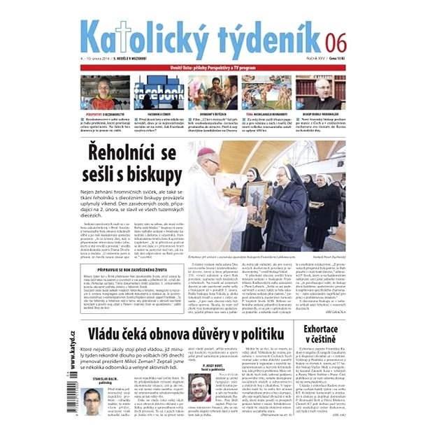 Katolický týdeník - 06/2014 - Elektronické noviny