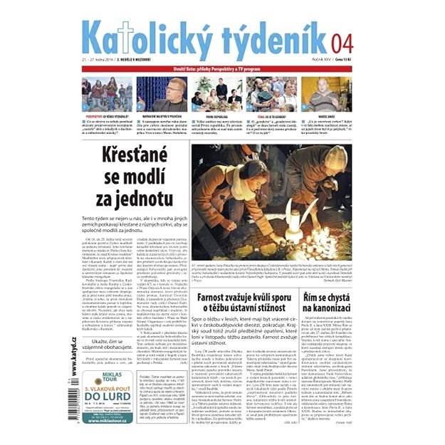 Katolický týdeník - 04/2014 - Elektronické noviny