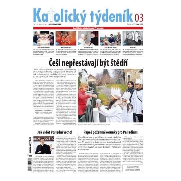 Katolický týdeník - 03/2014 - Elektronické noviny