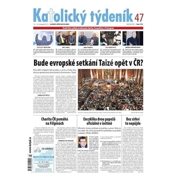 Katolický týdeník - 47/2013 - Elektronické noviny