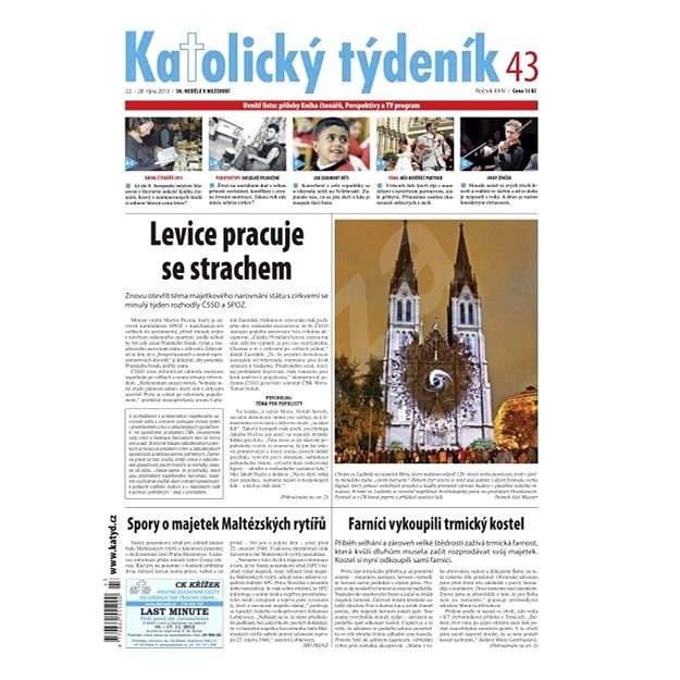Katolický týdeník - 43/2013 - Elektronické noviny