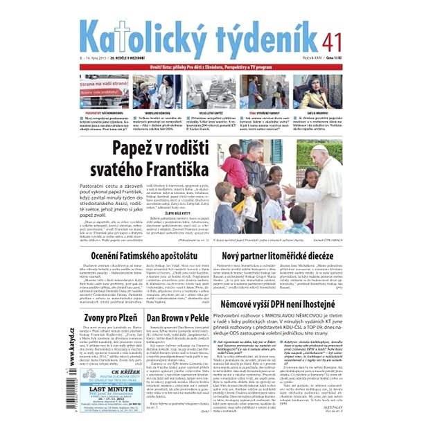 Katolický týdeník - 41/2013 - Elektronické noviny