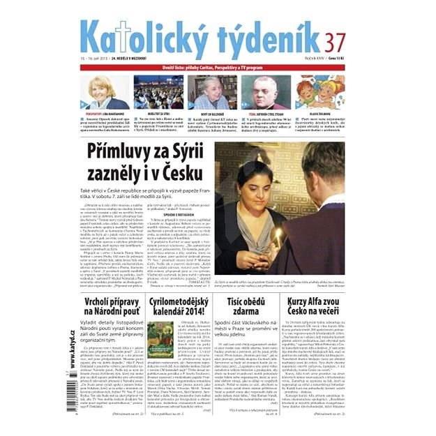 Katolický týdeník - 37/2013 - Elektronické noviny
