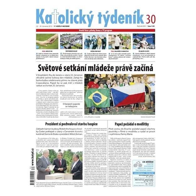 Katolický týdeník - 30/2013 - Elektronické noviny
