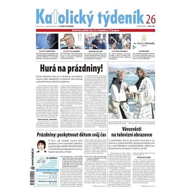 Katolický týdeník - 26/2013 - Elektronické noviny