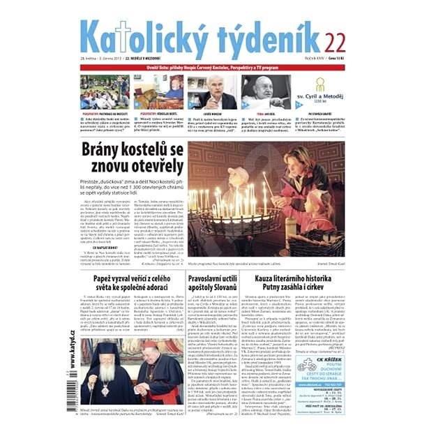 Katolický týdeník - 22/2013 - Elektronické noviny