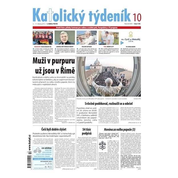 Katolický týdeník - 10/2013 - Elektronické noviny