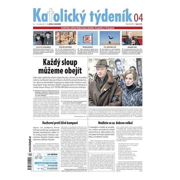 Katolický týdeník - 4/2013 - Elektronické noviny