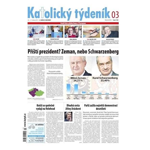 Katolický týdeník - 3/2013 - Elektronické noviny