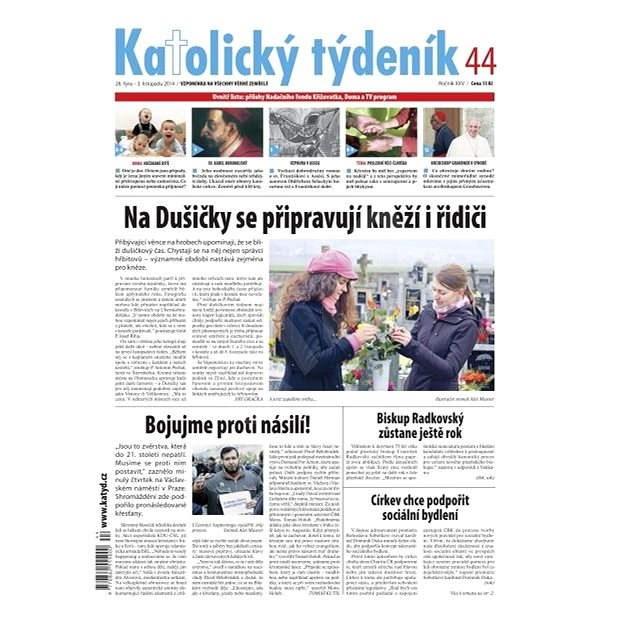 Katolický týdeník - 44/2014 - Elektronické noviny