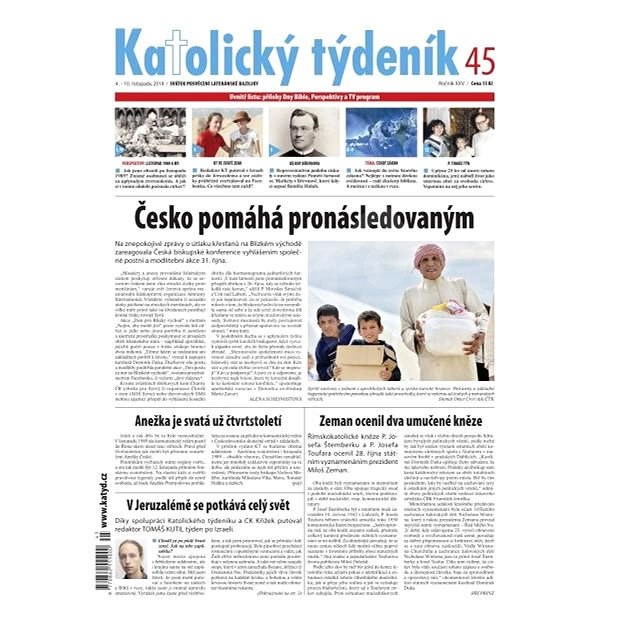 Katolický týdeník - 45/2014 - Elektronické noviny