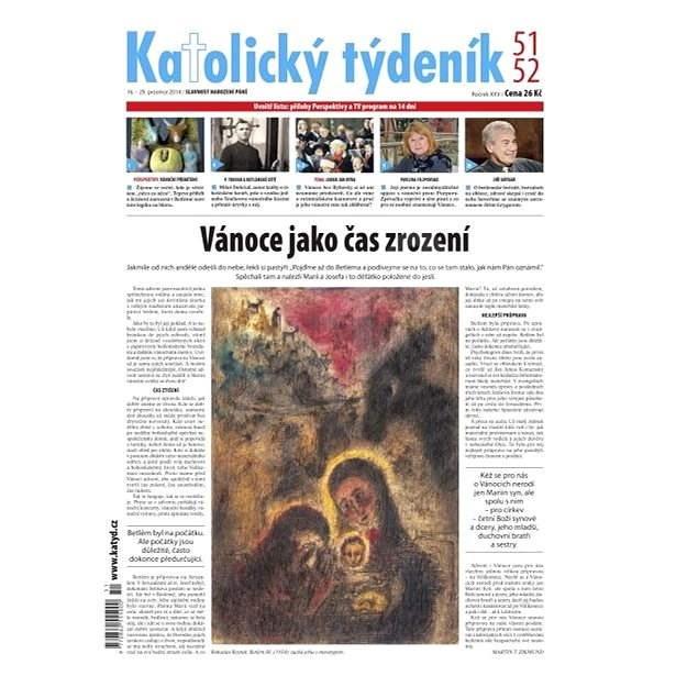 Katolický týdeník - 51-52/2014 - Elektronické noviny