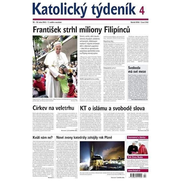 Katolický týdeník - 4/2015 - Elektronické noviny