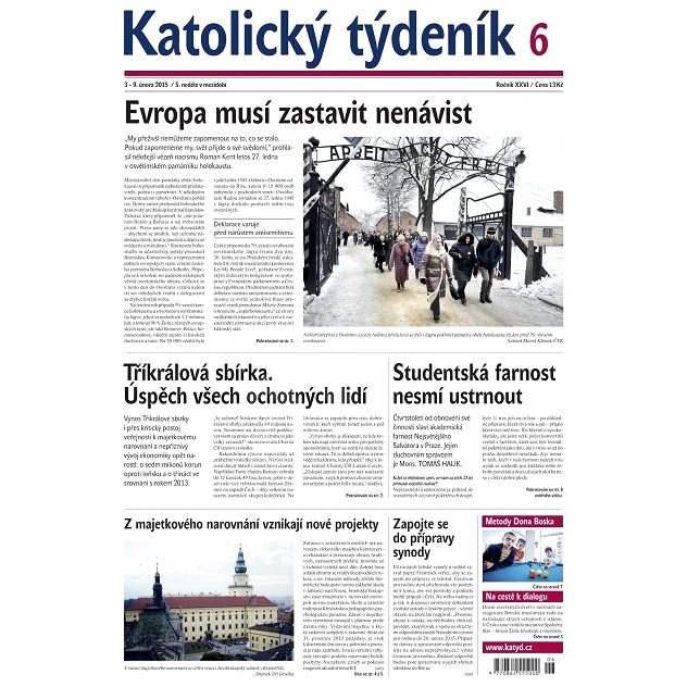 Katolický týdeník - 6/2015 - Elektronické noviny