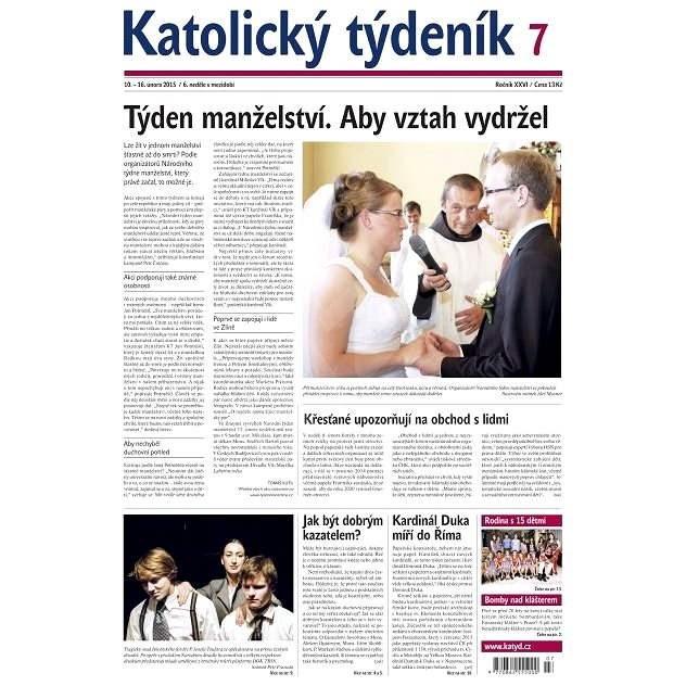 Katolický týdeník - 7/2015 - Elektronické noviny