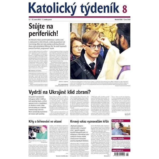 Katolický týdeník - 8/2015 - Elektronické noviny