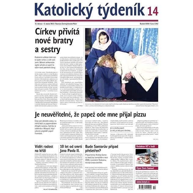 Katolický týdeník - 14/2015 - Elektronické noviny