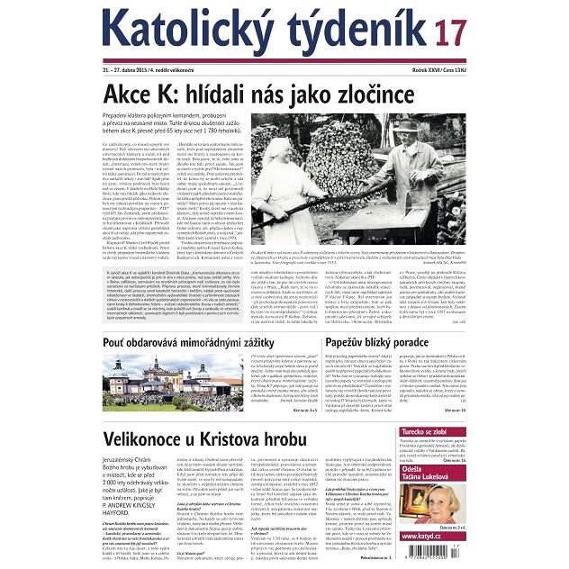 Katolický týdeník - 17/2015 - Elektronické noviny