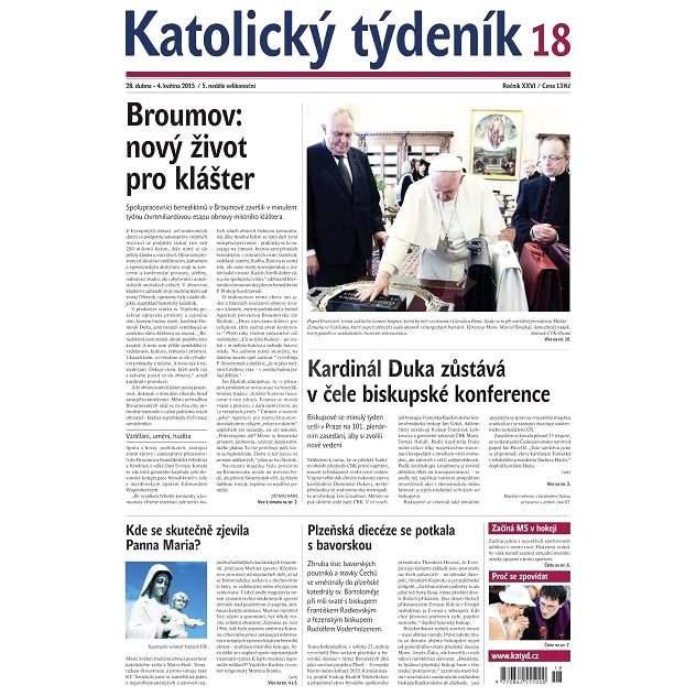 Katolický týdeník - 18/2015 - Elektronické noviny
