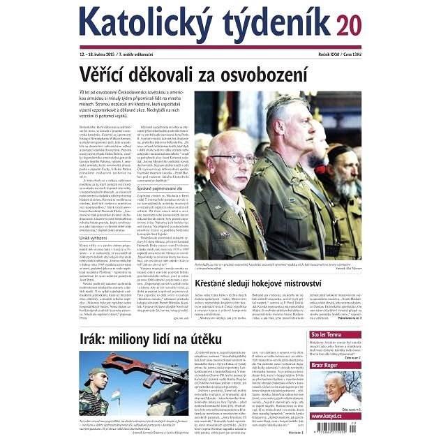 Katolický týdeník - 20/2015 - Elektronické noviny