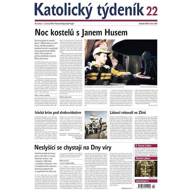 Katolický týdeník - 22/2015 - Elektronické noviny