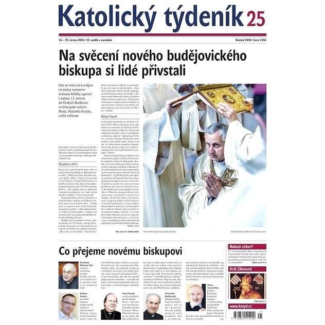 Katolický týdeník - 25/2015 - Elektronické noviny