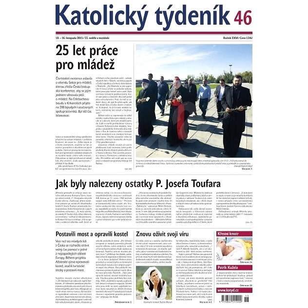 Katolický týdeník - 46/2015 - Elektronické noviny