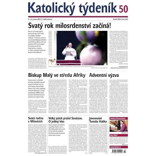 Katolický týdeník - 50/2015 - Elektronické noviny