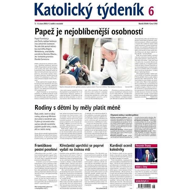 Katolický týdeník - 6/2016 - Elektronické noviny