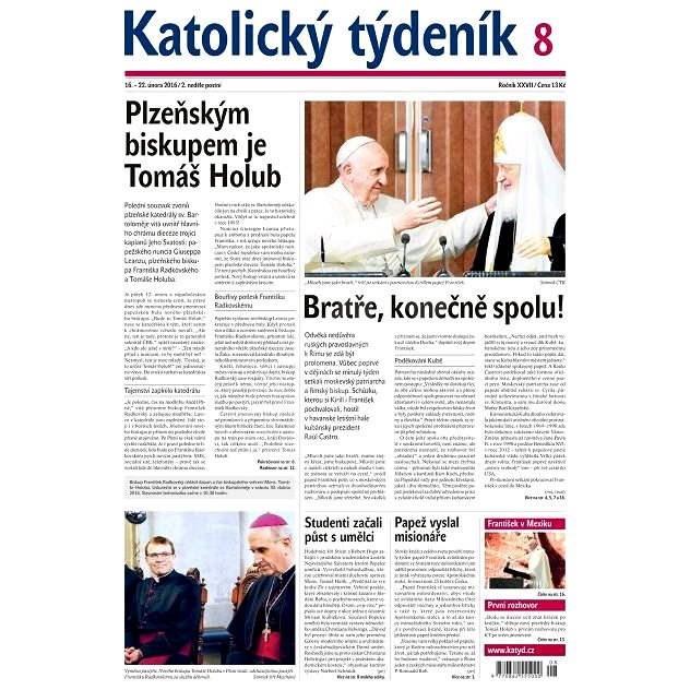 Katolický týdeník - 8/2016 - Elektronické noviny