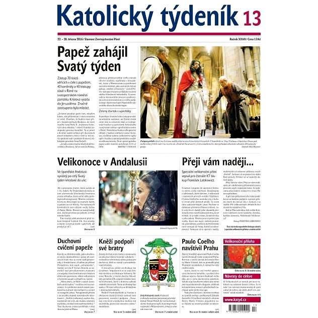 Katolický týdeník - 13/2016 - Elektronické noviny