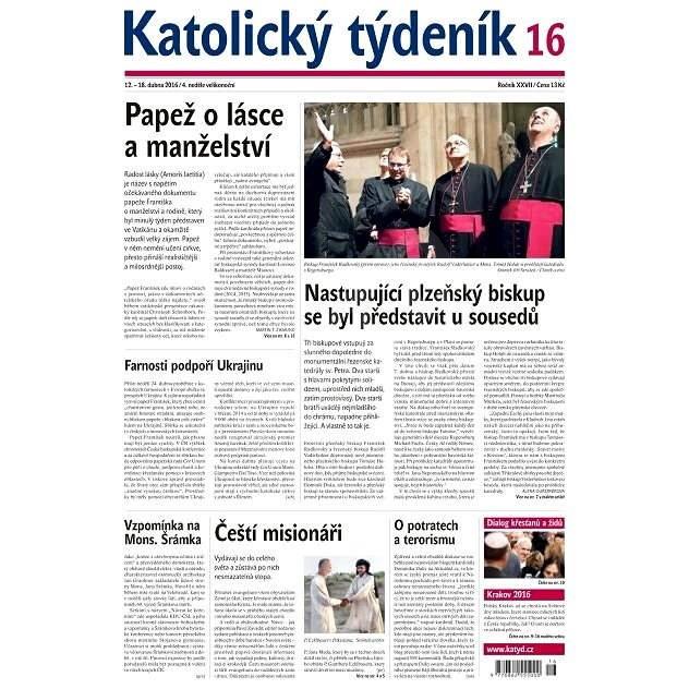 Katolický týdeník - 16/2016 - Elektronické noviny