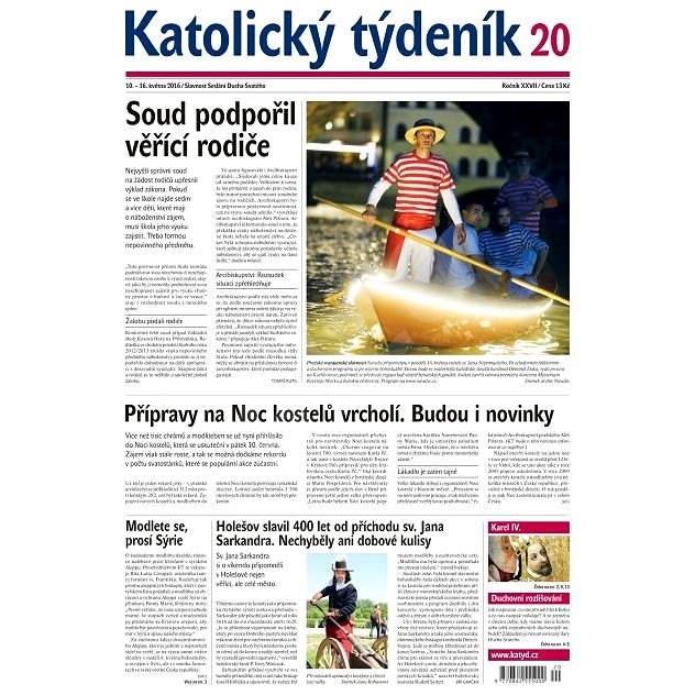 Katolický týdeník - 20/2016 - Elektronické noviny