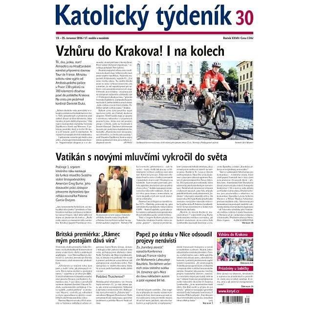 Katolický týdeník - 30/2016 - Elektronické noviny