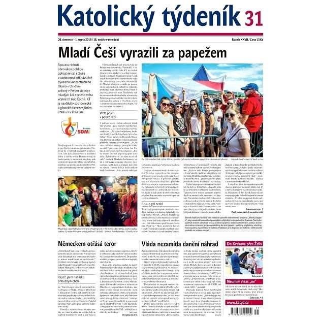 Katolický týdeník - 31/2016 - Elektronické noviny