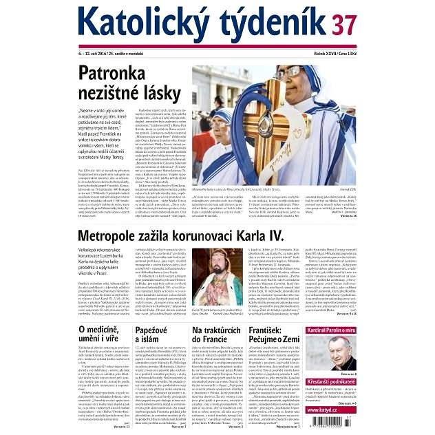 Katolický týdeník - 37/2016 - Elektronické noviny