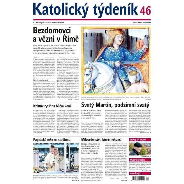 Katolický týdeník - 46/2016 - Elektronické noviny
