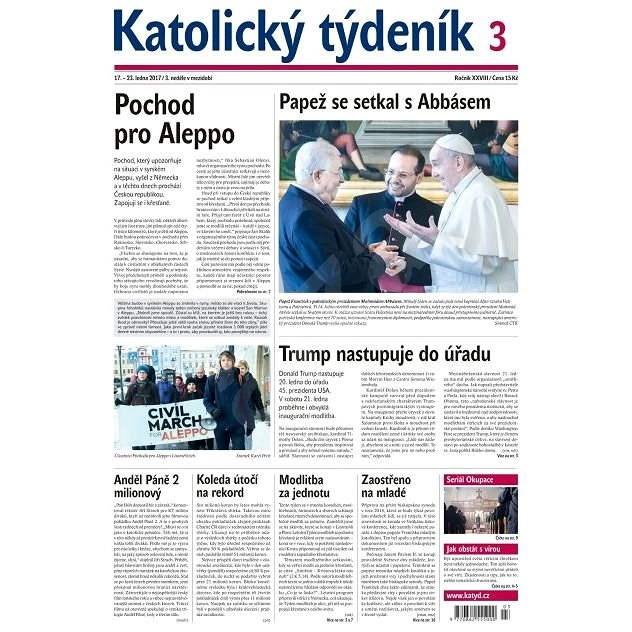 Katolický týdeník - 3/2017 - Elektronické noviny